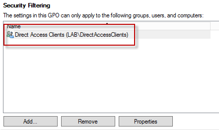 Disable DirectAccess IPv6 Transition Protocol using GPO