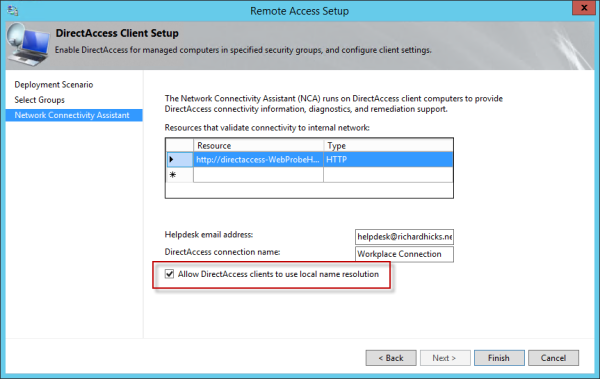 Hotfix Available to Disable NRPT on Windows 8.x DirectAccess Clients