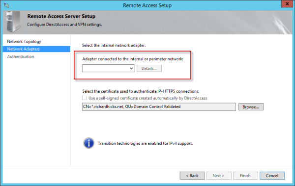 how to change your machines ipv4 address