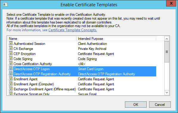 Configure directaccess with otp authentication richard m hicks configure directaccess with otp authentication yadclub Gallery