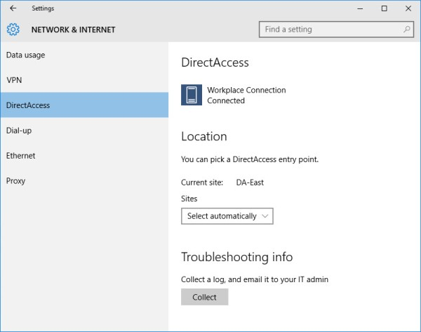 DirectAccess and Windows 10 Better Together