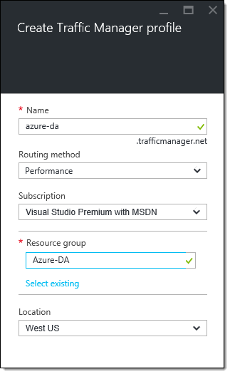 DirectAccess Multisite Geographic Redundancy with Microsoft Azure Traffic Manager