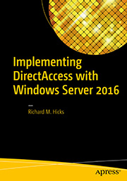Order my DirectAccess book on Amazon now!