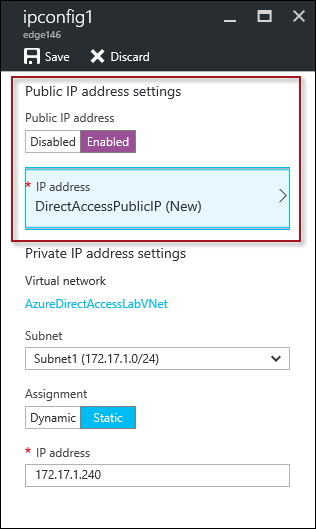 Deploying DirectAccess in Microsoft Azure