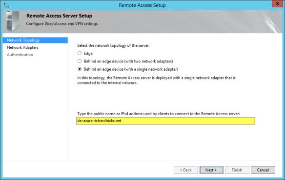 Deploying DirectAccess in Microsoft Azure | Richard M  Hicks