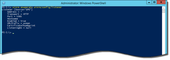 DirectAccess WinRM Conflicts and Errors