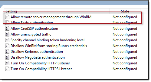 DirectAccess WinRM Conflicts and Errors | Richard M  Hicks