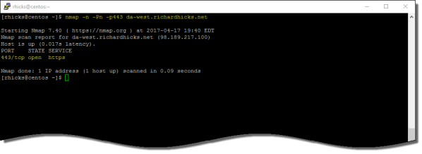 DirectAccess Troubleshooting with Nmap