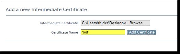 KEMP LoadMaster Load Balancer Certificate Format Invalid