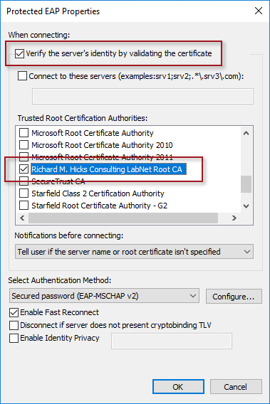Always On VPN Certificate Requirements for IKEv2 | Richard M  Hicks