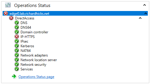 DirectAccess IP-HTTPS Not Working Properly in Windows Server 2019