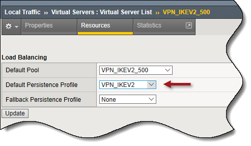 Always On VPN IKEv2 Load Balancing with F5 BIG-IP