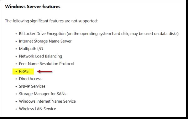 Always On VPN Options for Azure Deployments