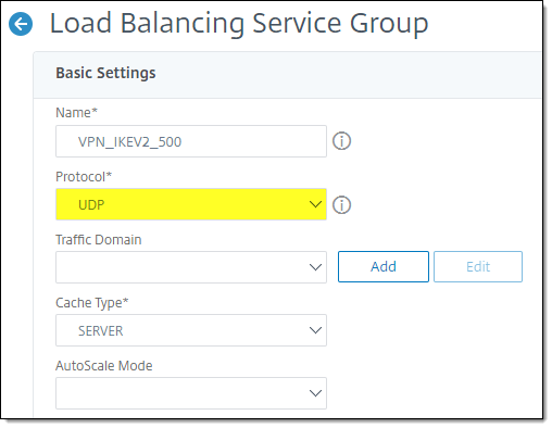 Always On VPN IKEv2 Load Balancing with Citrix NetScaler ADC