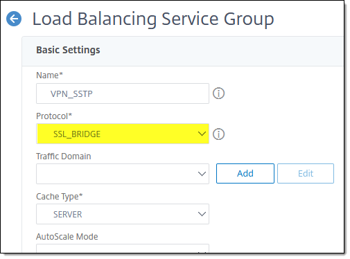 Always On VPN SSTP Load Balancing with Citrix NetScaler ADC